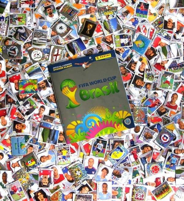 Panini WM 2014 Platinum Edition alle Sticker + Album
