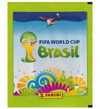 Panini WM Brasil 2014 Tüte Grün - Version Osteuropa