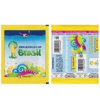 Panini WM Brasil 2014 Tüte Gelb - Version Horizontal