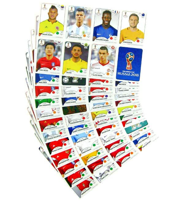 Panini WM 2018 Update Sticker