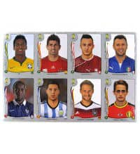 Panini WM Brasil 2014 Platinum Edition Update Set