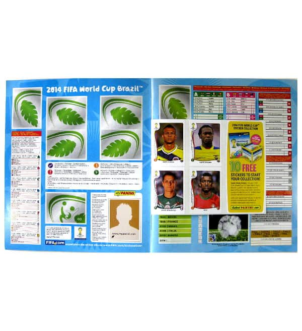 Panini World Cup Brasil 2014 Album USA Intro