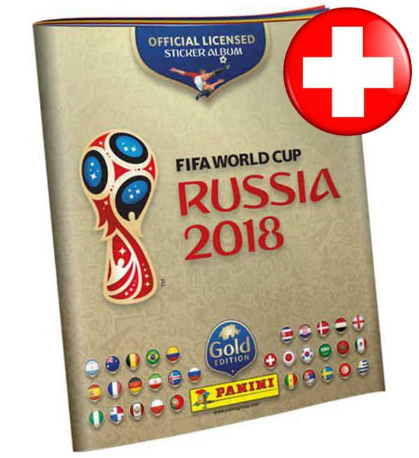 Panini WM 2018 Sticker - Gold Edition Sammelalbum