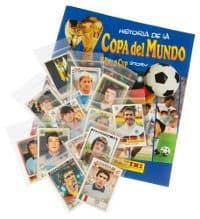Panini World Cup Story - alle 228 Sticker + Album