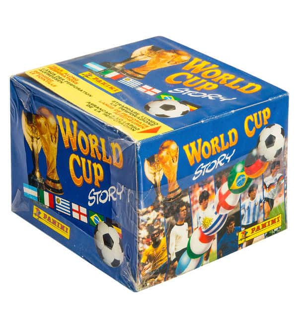 Panini World Cup Story Box - Display Front