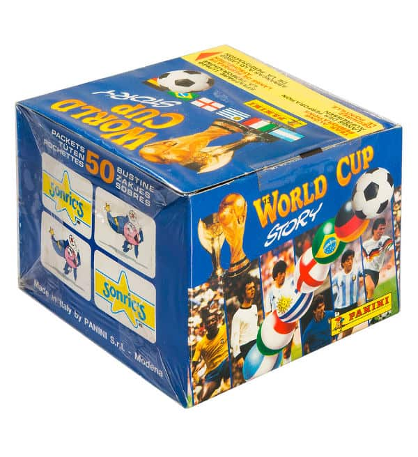 Panini World Cup Story Box - Display Seite
