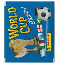 Panini World Cup Story - Tüte mit 4 Stickern