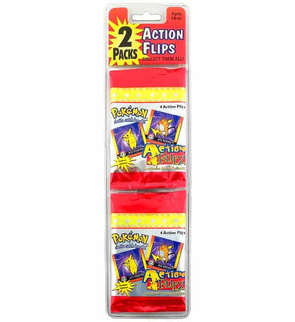 Pokemon Action Flips Serie 2 - 2-Pack-Blister