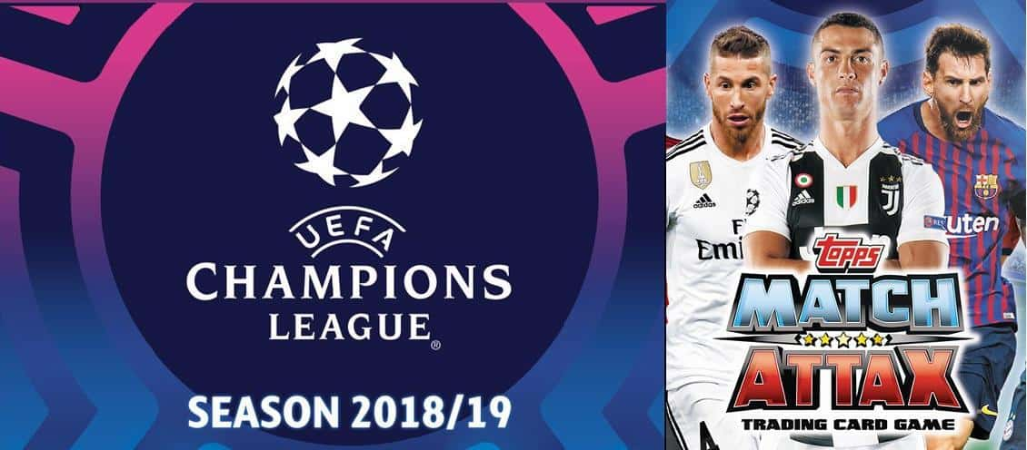 Topps Champions League Match Attax 2018/19
