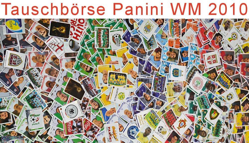 Tauschbörse Panini