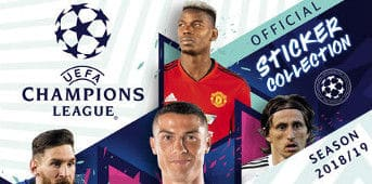 Topps Champions League Sticker 2018 / 2019