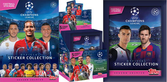 Topps Champions League Sticker 2019-2020