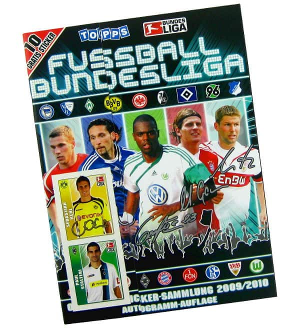Topps Bundesliga 2009 / 2010 Sticker Album