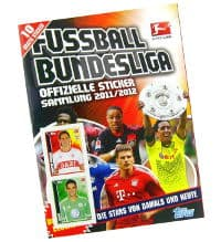 Topps Bundesliga Sticker 2011 / 2012 Album