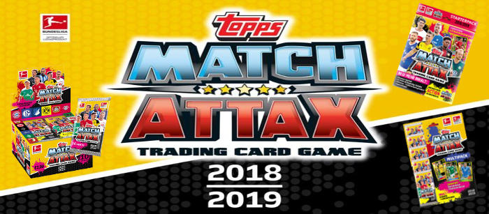 Topps Bundesliga Match Attax 2018/19 Trading Cards