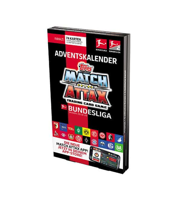 Topps Bundesliga Match Attax 2019/20 Adventskalender