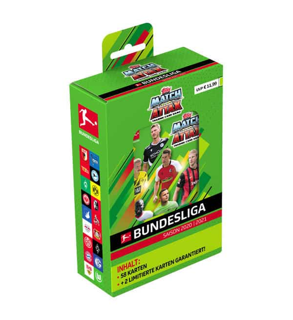 Topps Bundesliga Match Attax 2020/21 - Mega-Tin Box