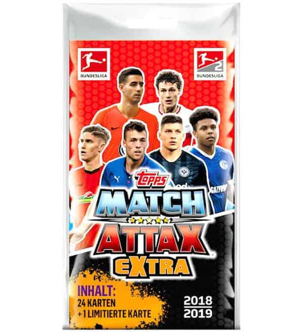 Topps Bundesliga Match Attax Extra 2018/19 Blister