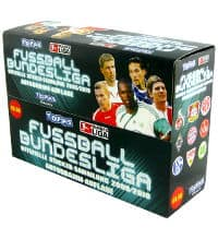 Topps Bundesliga Sticker 2009 / 2010 Display mit 100 Tüten