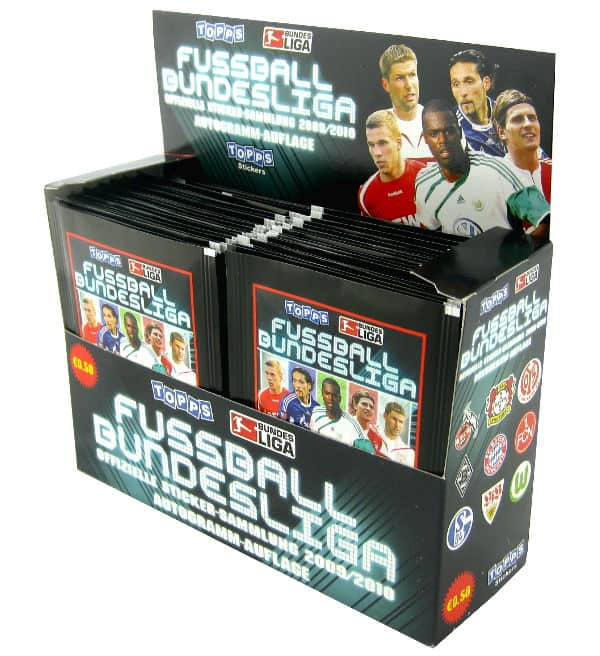 Topps Bundesliga Sticker 2009 / 2010 Display