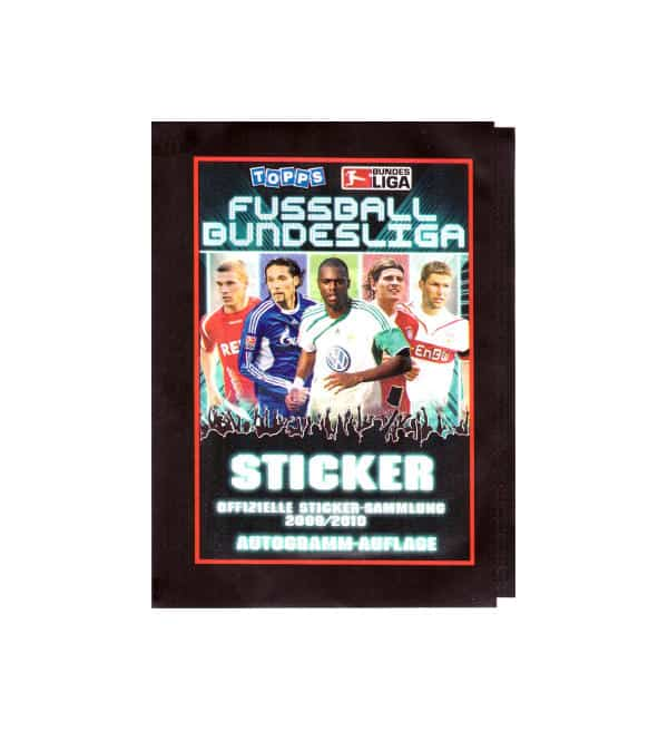 Topps Bundesliga Sticker 2009 / 2010 Tüte