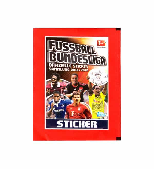 Topps Bundesliga Sticker 2011 / 2012 Tüte