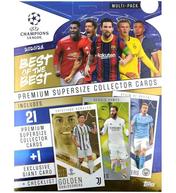 Topps CL Best of the Best 2020/21 Multipack
