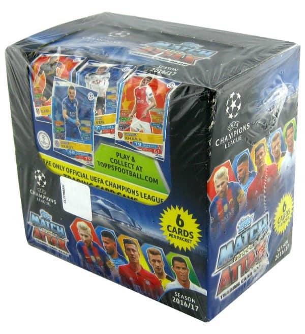 Topps Champions League Match Attax 2016 / 2017 Display