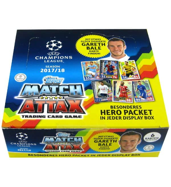 Topps Champions League Match Attax 2017 / 2018 - 30 Tüten