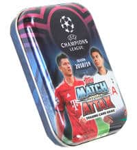 Match Attax Weihnachtskalender.Topps Champions League Match Attax Stickerpoint