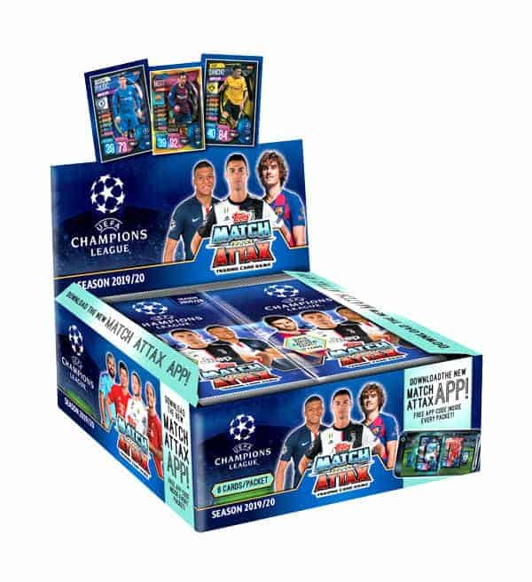 Topps Champions League Match Attax 2019/20 Display