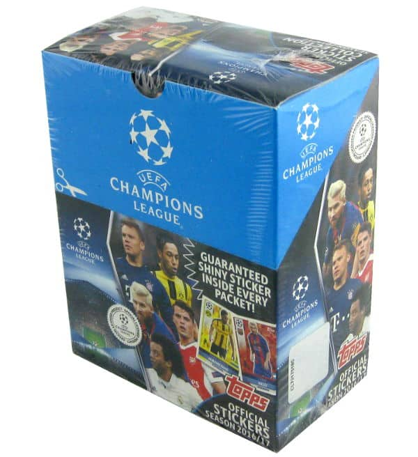 Topps Champions League Sticker 2016 / 2017 Display