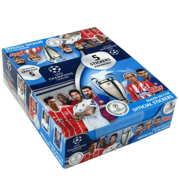 Topps Champions League Sticker 2017 / 2018 Display