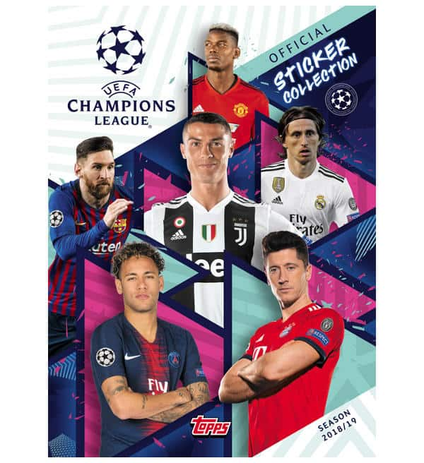 Topps Champions League Sticker 2018 / 2019 Album