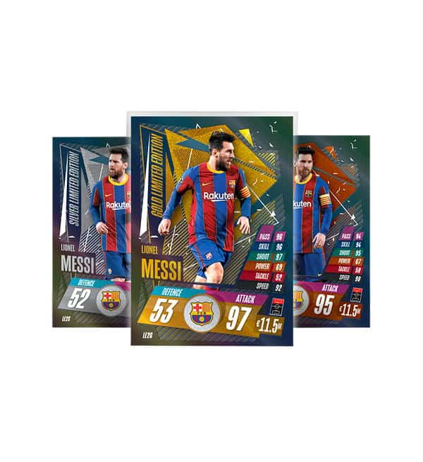 Lionel Messi Limited Edition Card