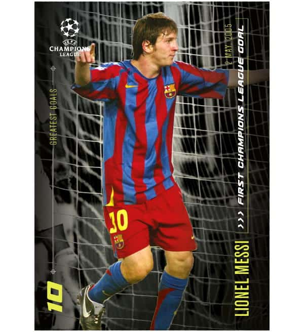 Topps Lionel Messi Moments & Goals  - 1st CL Goal