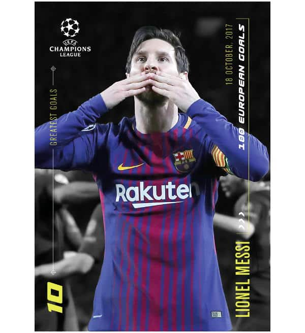 Topps Lionel Messi Moments & Goals  - 100 European Goals