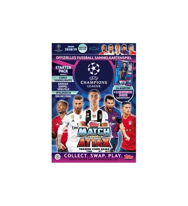 Topps Champions League Match Attax 2018 / 2019 Starter Pack