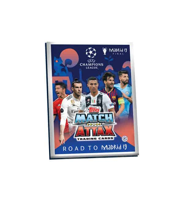 Topps CL Match Attax Road To Madrid 19 Mini-Binder