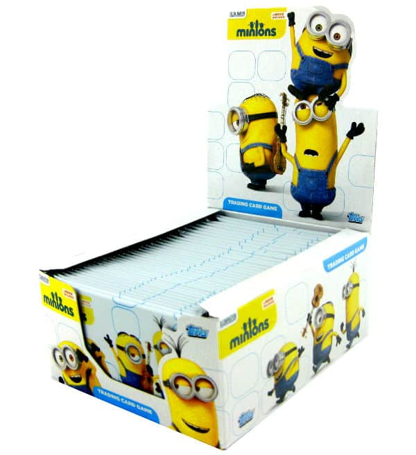 Topps Minions Trading Cards - Display mit 36 Tüten