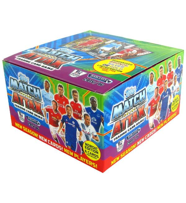 Topps PL Match Attax 2015 / 2016 Nordic Edition - Box 50 Tüten