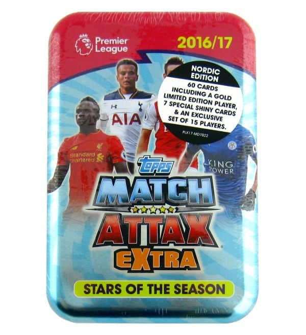 Topps Premier League Match Attax Extra 2016 / 2017 Tin