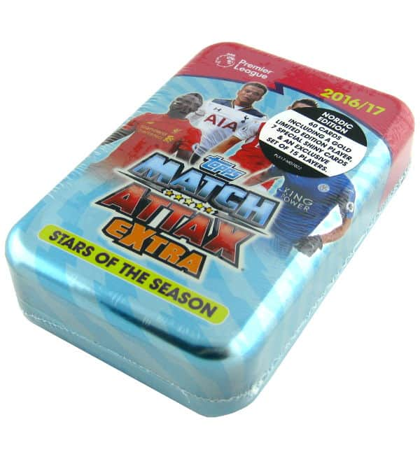 Topps Premier League Match Attax Extra 2016 / 2017 XXL Tin