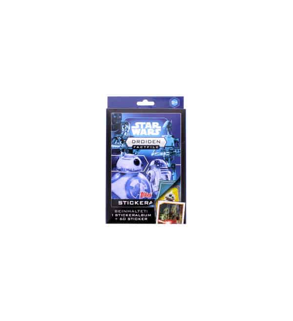 Topps Star Wars Factfiles Sticker - Droiden Set