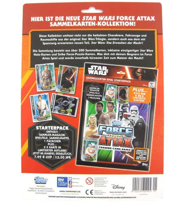 Topps Star Wars Force Attax Ep. 7 - Multipack