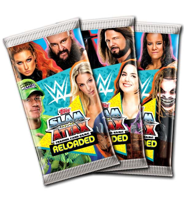 Topps WWE Slam Attax Reloaded 2020 - Booster
