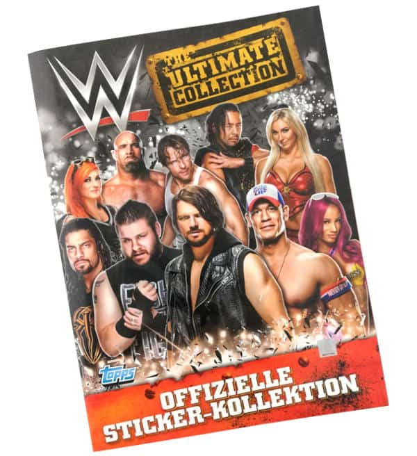 Topps WWE Ultimate Collection Sticker - Sammelalbum
